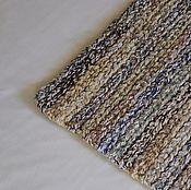 Для дома и интерьера ручной работы. Ярмарка Мастеров - ручная работа вязаный коврик меланж экоцвет прямоугольный. Handmade.