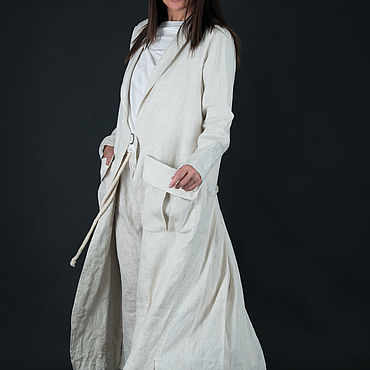 Clothing handmade. Livemaster - original item Summer linen vest by EUGfashion - VE0321LE. Handmade.