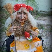 Куклы и игрушки ручной работы. Ярмарка Мастеров - ручная работа Баба Яга Агафьюшка. Handmade.