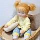 Вальдорфская игрушка ручной работы. Лялечка для Даши, 50 см. svetlana. Ярмарка Мастеров. Детская игрушка, текстильная игрушка
