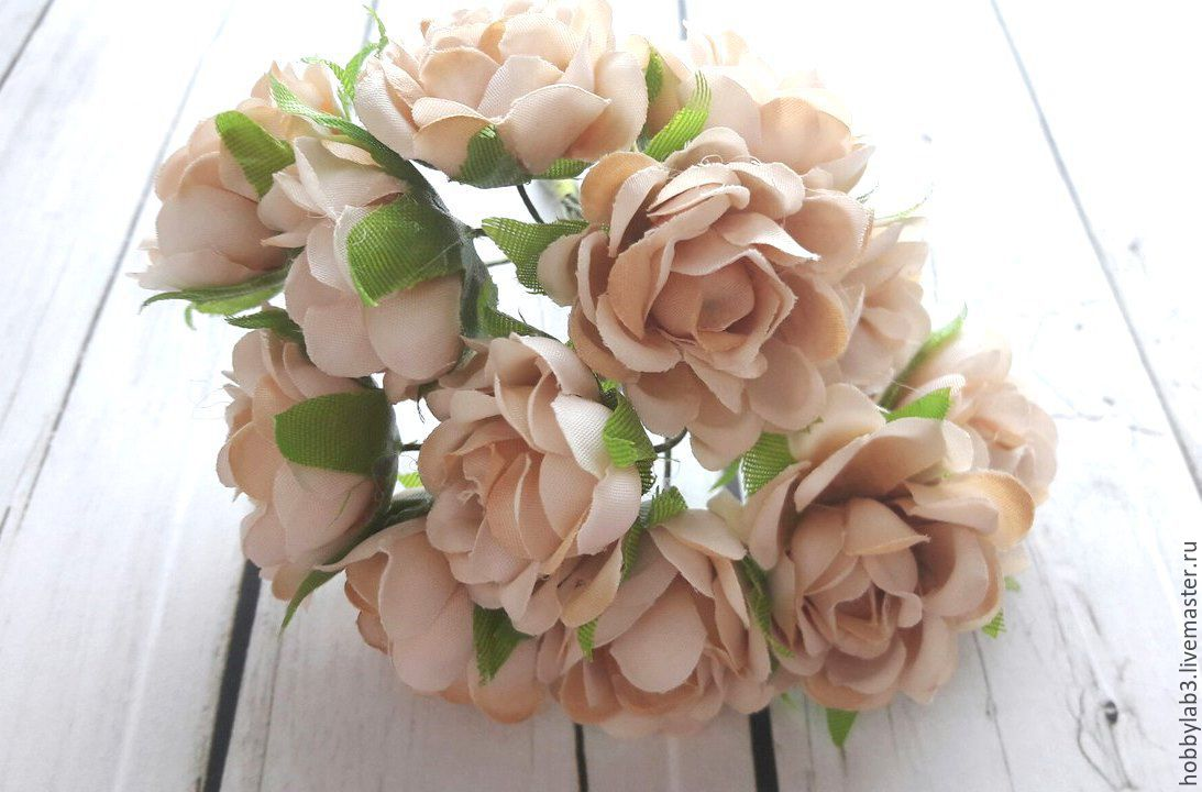 Тканевые розы купить купить цветы для осенней посадки в москве