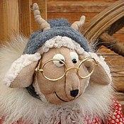 Куклы и игрушки ручной работы. Ярмарка Мастеров - ручная работа Идёт коза рогатая.... Handmade.