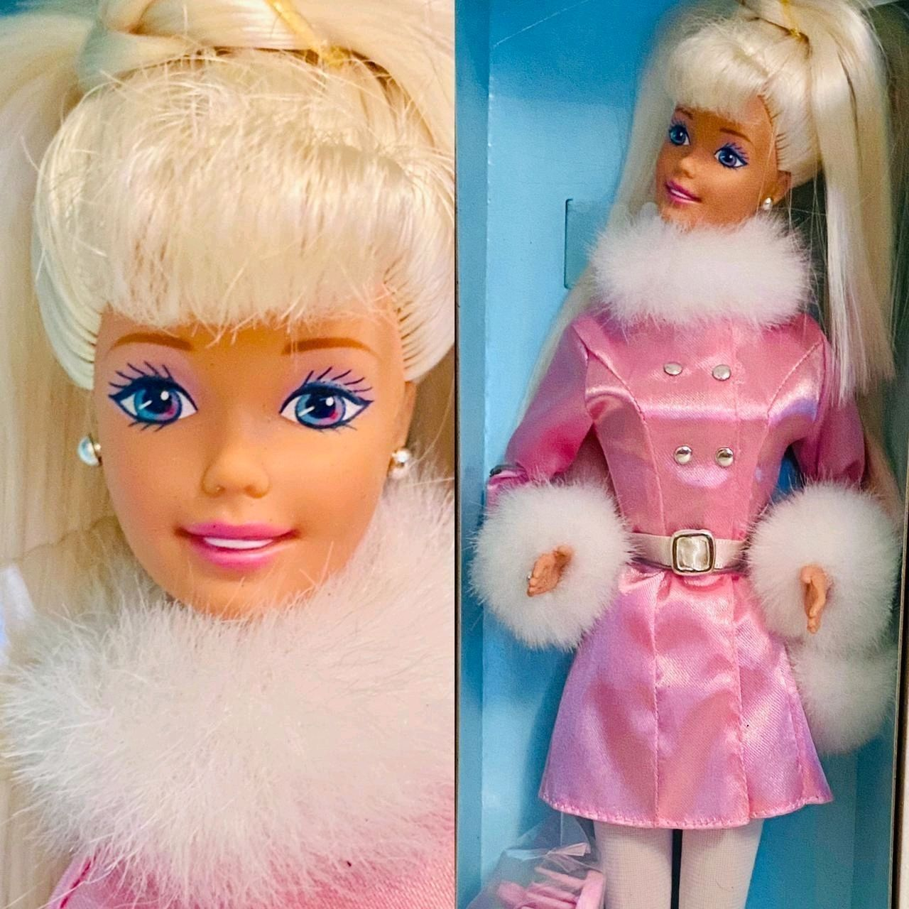 """Кукла Барби """"Ослепительная зима"""", 1997 год, Куклы и пупсы, Смоленск,  Фото №1"""