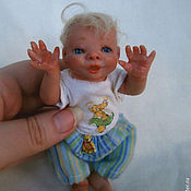 Куклы и игрушки ручной работы. Ярмарка Мастеров - ручная работа Малыш Ванечка. Handmade.