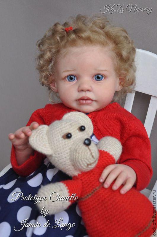 Куклы и игрушки ручной работы. Ярмарка Мастеров - ручная работа. Купить молд Chanelle от Jannie de Lange. Handmade. Бежевый