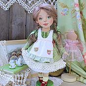Куклы и игрушки ручной работы. Ярмарка Мастеров - ручная работа Кукла текстильная Ариша, коллекционная авторская.. Handmade.