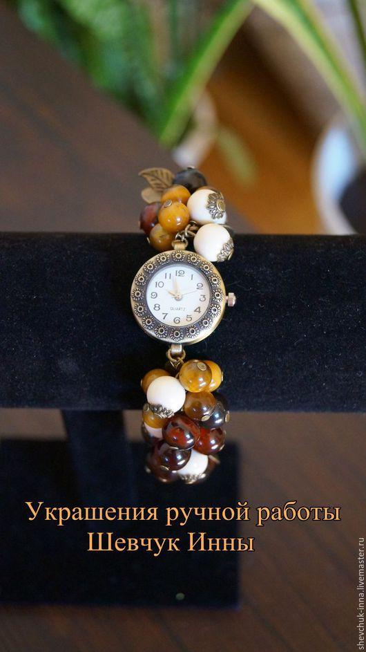 """Часы ручной работы. Ярмарка Мастеров - ручная работа. Купить Часы """"Осень"""". Handmade. Часы ручной работы, часы женские"""