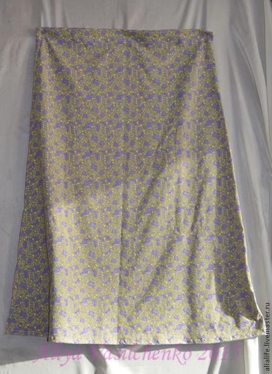 Домашняя длинная юбка