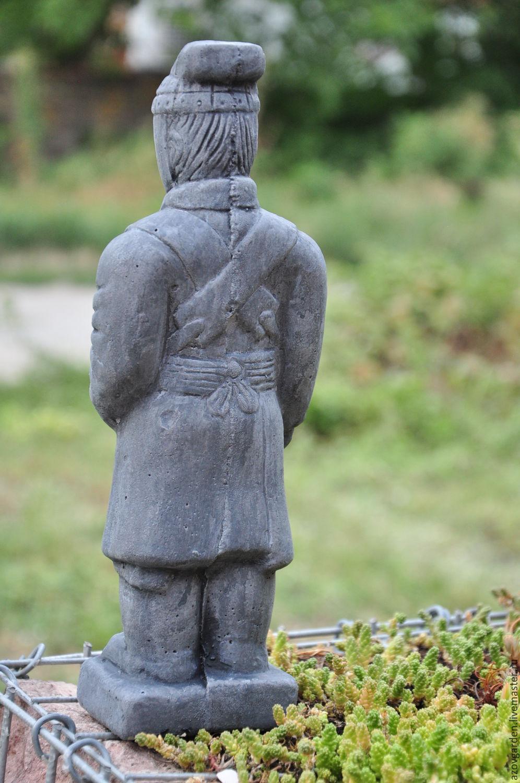 Army Solr Garden Statue Inspiration