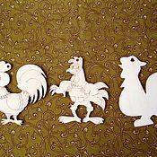 Материалы для творчества ручной работы. Ярмарка Мастеров - ручная работа Петухи,подвески. Handmade.