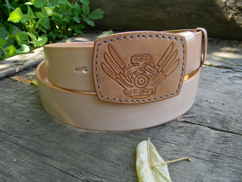 Belt for men, personal, Straps, Kineshma,  Фото №1
