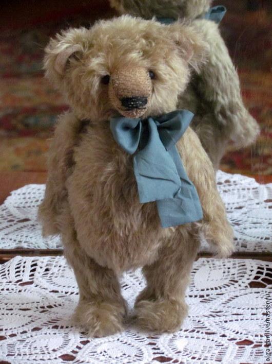 Мишки Тедди ручной работы. Ярмарка Мастеров - ручная работа. Купить Медведь, настоящийджентельмен. Handmade. Золотой, опилки древесные