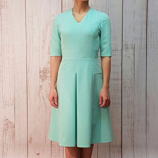 Платья ручной работы. Ярмарка Мастеров - ручная работа. Купить Летнее деловое платье. Handmade. Платье, деловое платье