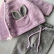 Комплекты одежды ручной работы. Ярмарка Мастеров - ручная работа Вязаный костюм. Handmade.