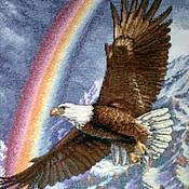 Картины и панно ручной работы. Ярмарка Мастеров - ручная работа полет орла. Handmade.