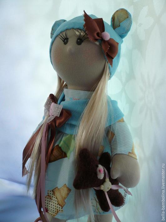 Коллекционные куклы ручной работы. Ярмарка Мастеров - ручная работа. Купить Интерьерная кукла Misha. Handmade. Голубой, кукла