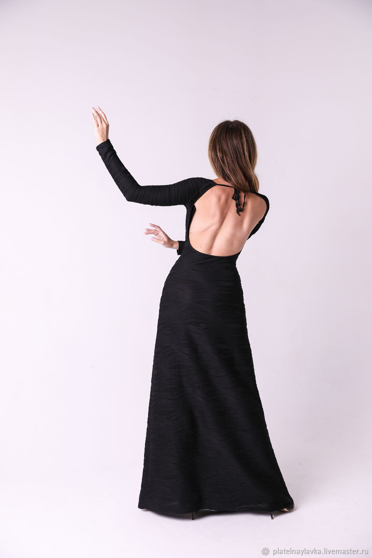 Платье длинное с открытой спиной, Платья, Москва,  Фото №1