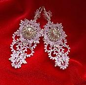 Украшения handmade. Livemaster - original item Bridal earrings