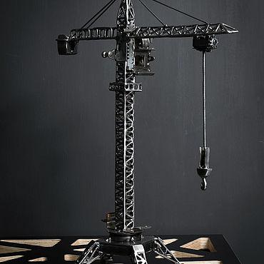Сувениры и подарки ручной работы. Ярмарка Мастеров - ручная работа Кран башенный. Handmade.