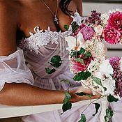 Свадебный салон ручной работы. Ярмарка Мастеров - ручная работа Корсетное свадебное платье. Handmade.