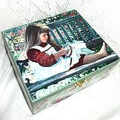 Для дома и интерьера handmade. Livemaster - original item Box thread Embroiderer. Handmade.