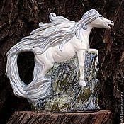 """Посуда ручной работы. Ярмарка Мастеров - ручная работа Чайник заварочный """"Лошадь-символ 2014 года"""". Handmade."""