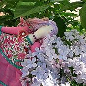 Куклы и игрушки ручной работы. Ярмарка Мастеров - ручная работа Текстильная кукла Весна. Handmade.