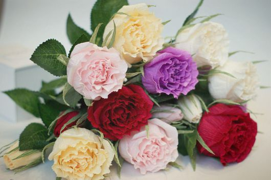 Букеты ручной работы. Ярмарка Мастеров - ручная работа. Купить Одиночная Роза с конфеткой. Handmade. Фрязино, букет, оригинальный подарок
