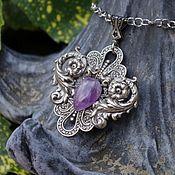 Украшения handmade. Livemaster - original item Pendant silver pendant Verona Purple amethyst. Handmade.