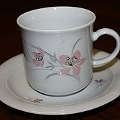 Винтаж handmade. Livemaster - original item Vintage delicate porcelain Cup, Kahla, Germany 1970 g. Handmade.