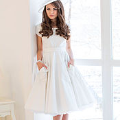 handmade. Livemaster - original item Dress in retro style