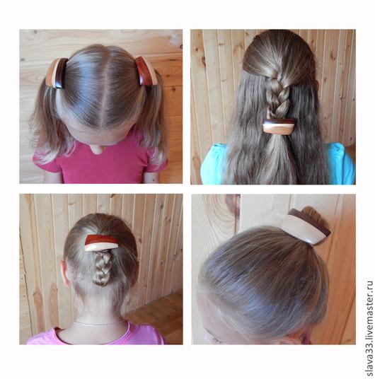 Детская бижутерия ручной работы. Ярмарка Мастеров - ручная работа. Купить Украшения для волос ( Яркие легкие, для юных модниц ). Handmade.