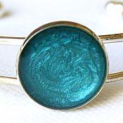 Украшения handmade. Livemaster - original item Bracelet with painted turquoise color. Handmade.