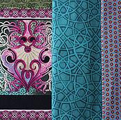 Материалы для творчества ручной работы. Ярмарка Мастеров - ручная работа Ткань для пэчворка Shangri-La Orient. Handmade.