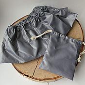 Обувь ручной работы handmade. Livemaster - original item Reusable Shoe covers with a bag