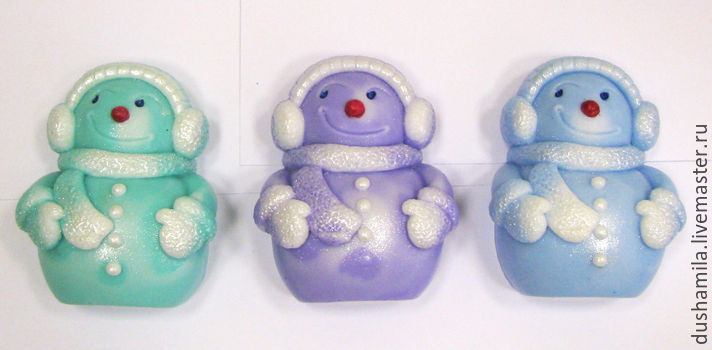 Soap Snowman small, Soap, Moscow,  Фото №1