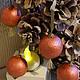 Новогодние шарики, 10 штук