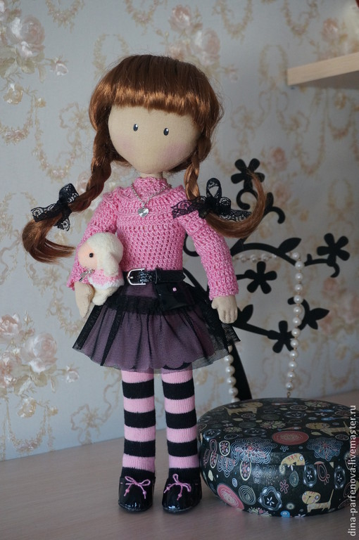 Коллекционные куклы ручной работы. Ярмарка Мастеров - ручная работа. Купить Кукла девочка. Handmade. Разноцветный, подарок девушке