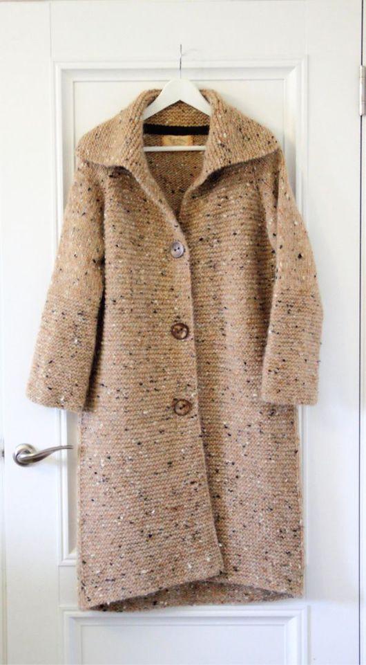 """Верхняя одежда ручной работы. Ярмарка Мастеров - ручная работа. Купить По мотивам пальто """"Рижский песок"""". Handmade. Лопи"""