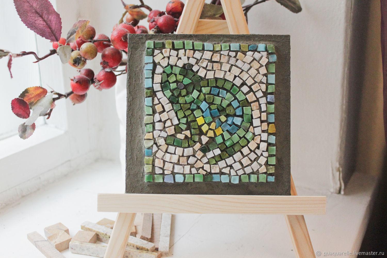Римская мозаика с жабой