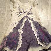 Одежда детская handmade. Livemaster - original item Felted children`s dress. Handmade.