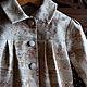 Одежда для девочек, ручной работы. Ярмарка Мастеров - ручная работа. Купить Пальто ПАРИЖ, для девочки. Летнее, из японского хлопка. Handmade.