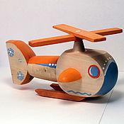Куклы и игрушки ручной работы. Ярмарка Мастеров - ручная работа Вертолет полярной авиации. Handmade.