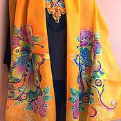 """Аксессуары handmade. Livemaster - original item scarve """" Blue Angel """".. Handmade."""