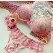 Одежда handmade. Livemaster - original item A set of Lacy linen