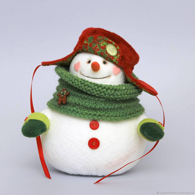 Снеговик из меха своими руками фото 491