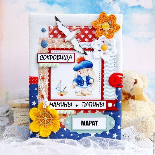 Подарки для новорожденных, ручной работы. Ярмарка Мастеров - ручная работа. Купить Мамины сокровища для Марата № 74. Handmade. новорожденному