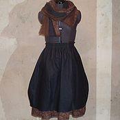 Одежда handmade. Livemaster - original item No. №153.1 Linen skirt boho. Handmade.