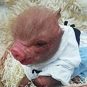 Куклы Reborn ручной работы. Ярмарка Мастеров - ручная работа Куклы Reborn: свинка Хрюня. Handmade.