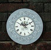 """Для дома и интерьера ручной работы. Ярмарка Мастеров - ручная работа Интерьерные часы """"Sweet Home"""" Винтажные настенные часы. Handmade."""